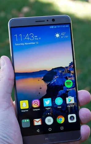 Huawei Mate 10 Will Likely Feature Have Bezel-Less Display, 4 Cameras - Rumor