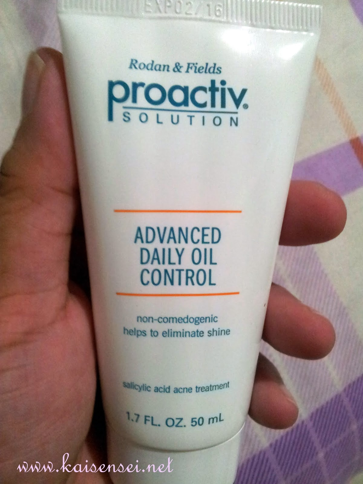 thoroughly clean oil control lotion review