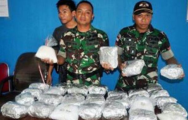Bongkar Peredaran 31 Kg Sabu, Lima Prajurit TNI Dapat Penghargaan