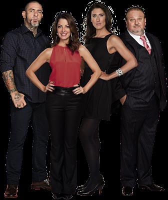 Henrique Fogaça, Ana Paula Padrão, Paola Carosella e Erick Jacquin - Divulgação/Band