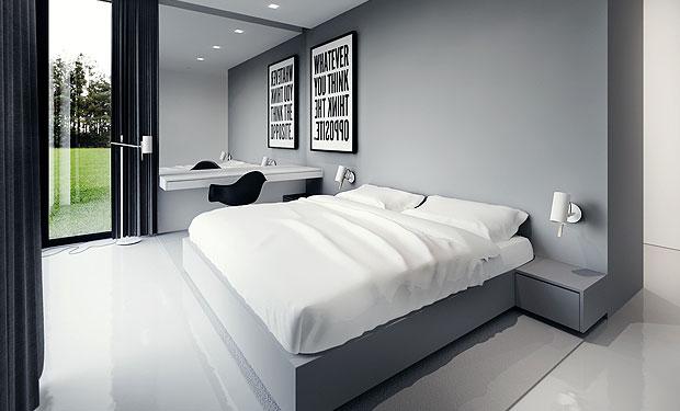 kerala building construction black and white interior designs. Black Bedroom Furniture Sets. Home Design Ideas