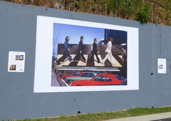 Rock n Roll Billboards Sunset Strip Beatles Abbey Road