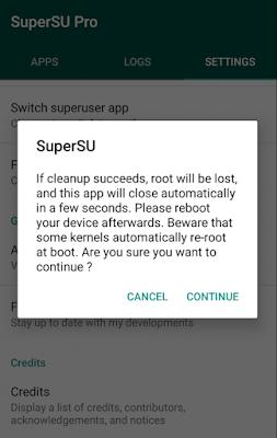 Cara Melakukan Unroot di Android - 3