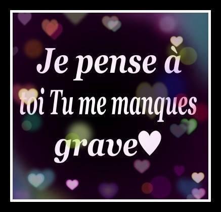 Sms Tu Me Manques Tu Me Manques Mon Amour Mot Damour