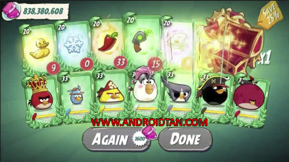 Angry Birds 2 Mod Apk Unlimited Gems/Lives
