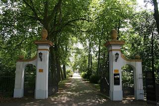 Eingang in den Schlosspark