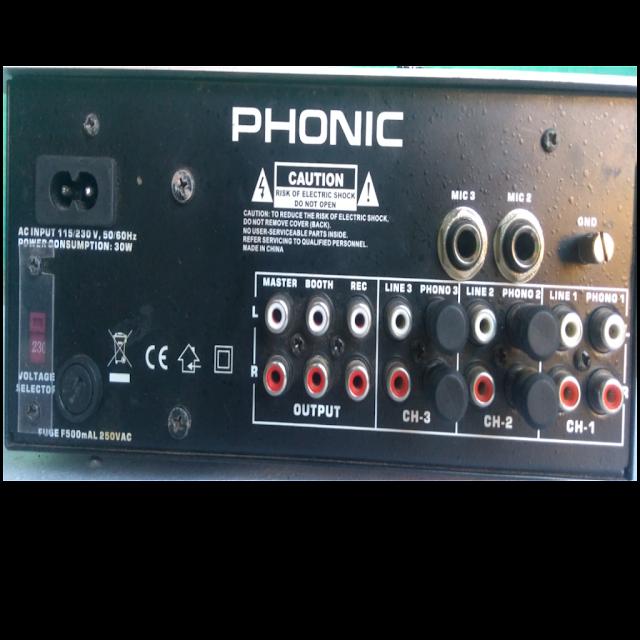 Phonic dj mixer,best dj mixer, high punch dj mixer,lowest price dj mixer