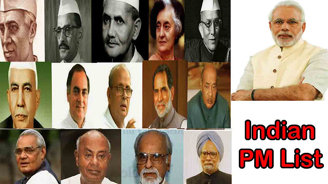 prime minister of india list,