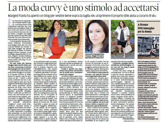 divadellecurve su La Nuova Ferrara (articolo di Francesca Succi)