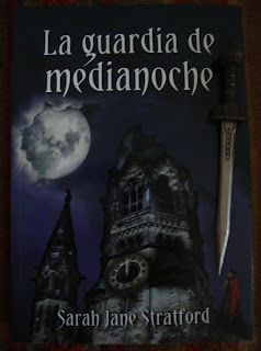 Portada del libro La guardia de medianoche, de Sarah Jane Stratford
