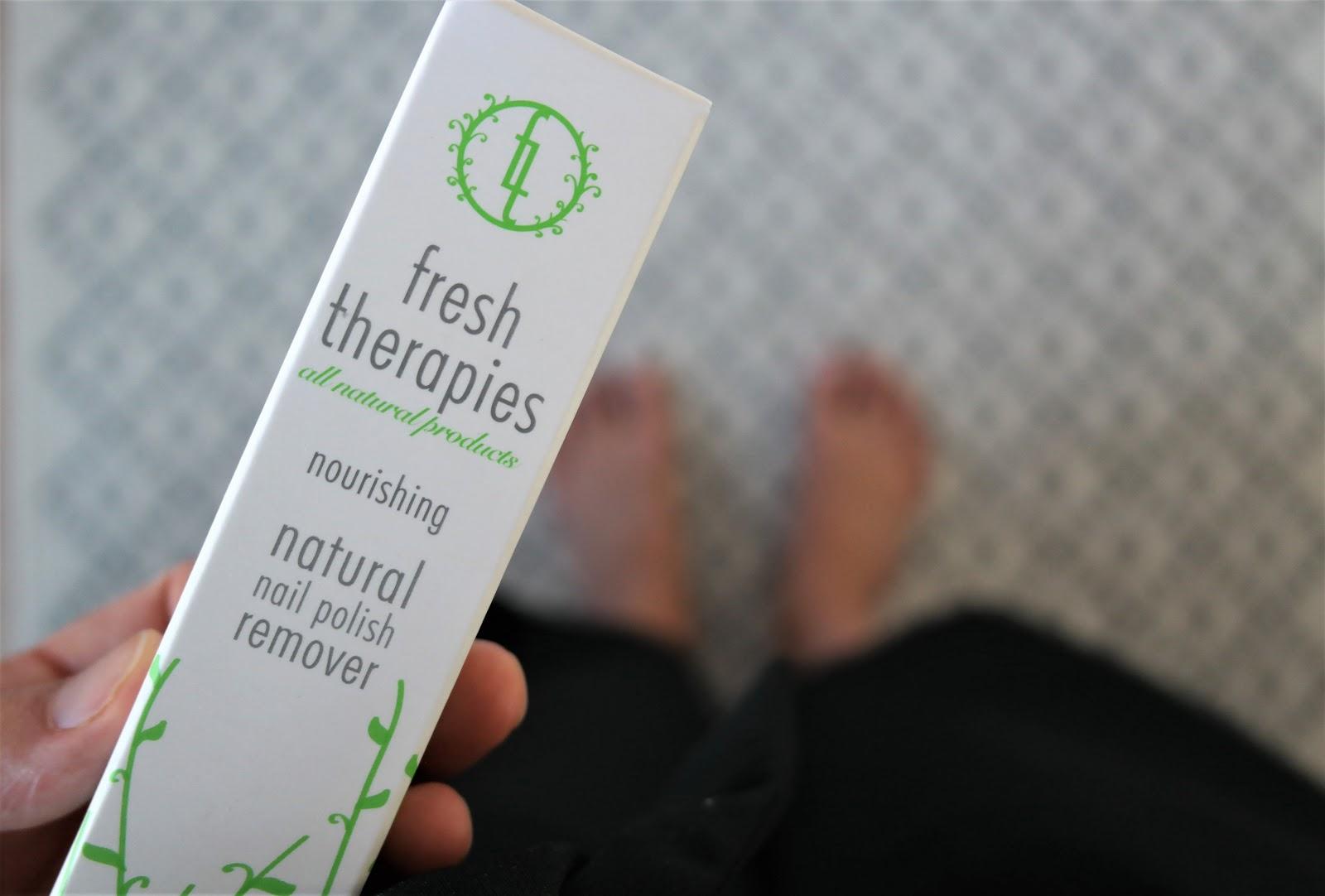 luonnollinen kynsilakanpoistoaine