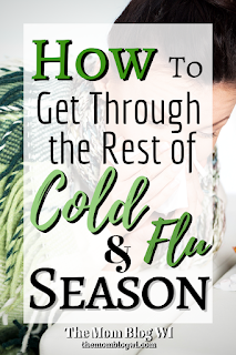 How to Get Your Family Through The Rest of Cold & Flu Season | The Mom Blog WI | The Best Products to Use When Caring for Your Sick Toddler #Parenting #Toddlers #Family #Love
