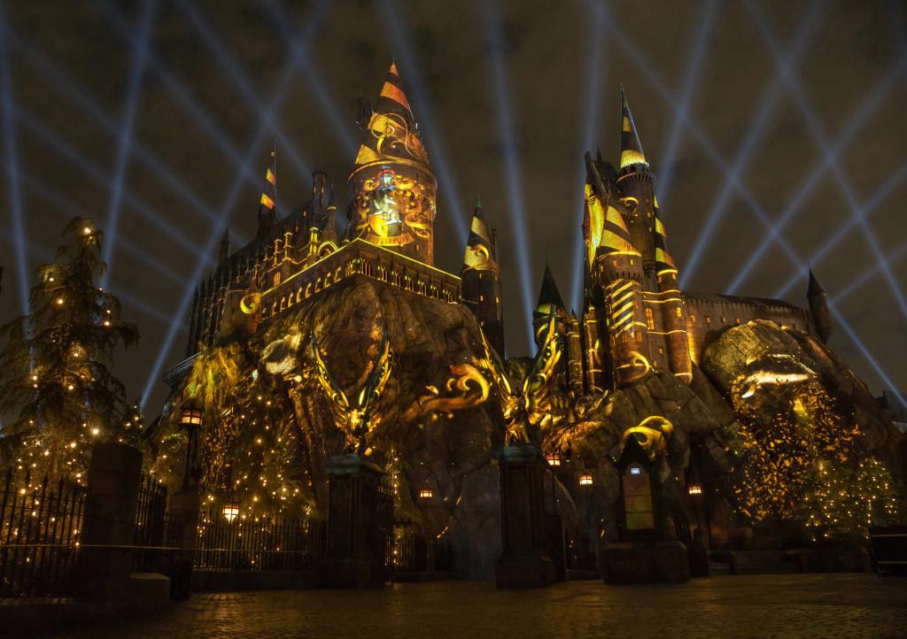 a827ebbfa73e7 Show noturno do Harry Potter na Universal Orlando   Dicas da Flórida ...