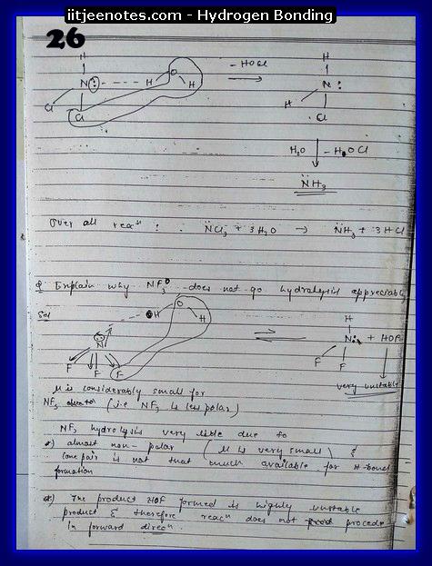 Hydrogen Bonding Notes12