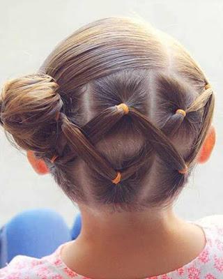 peinados elegantes para niñas