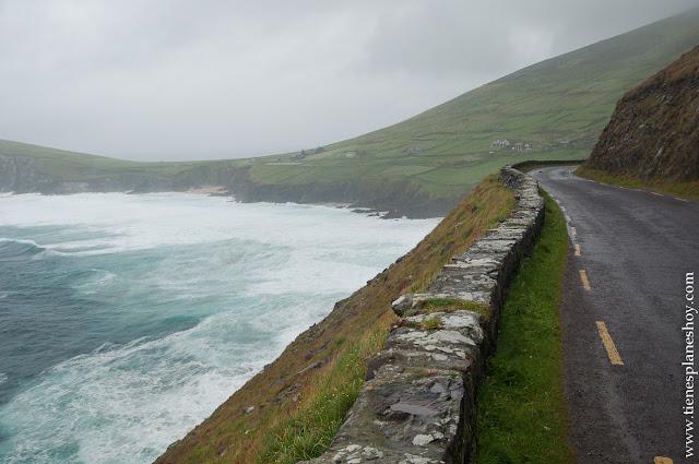 Carretera Peninsula de Dingle  Irlanda Condado de Kerry