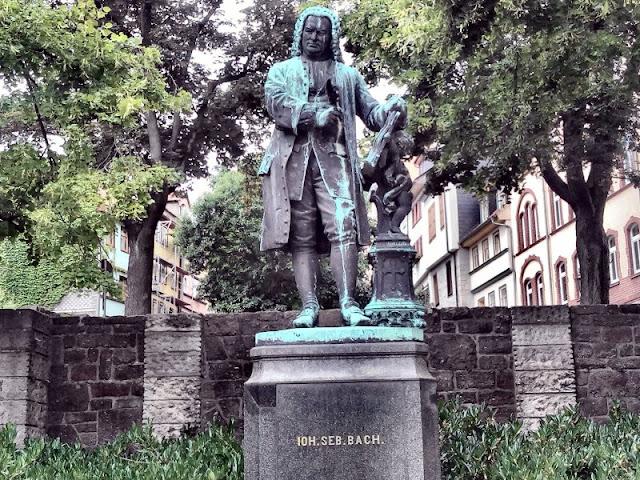 Bachdenkmal en Eisenach
