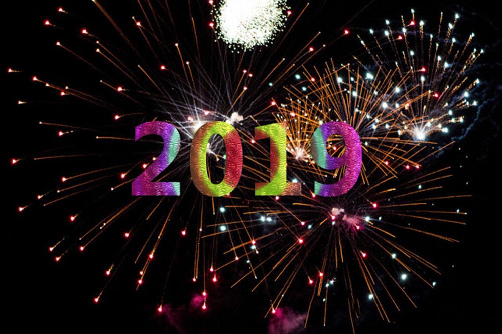 Những hình ảnh đẹp chúc mừng năm mới 2019