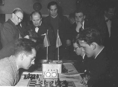 Jaume Mora en la Olimpíada de Ajedrez por Equipos en Tel Aviv 1964