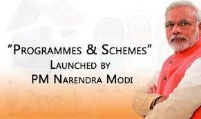 प्रधानमंत्री द्वारा शुरू की गई सभी योजनाओं की सूची