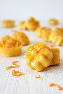 Kleine sinaasappelcakejes