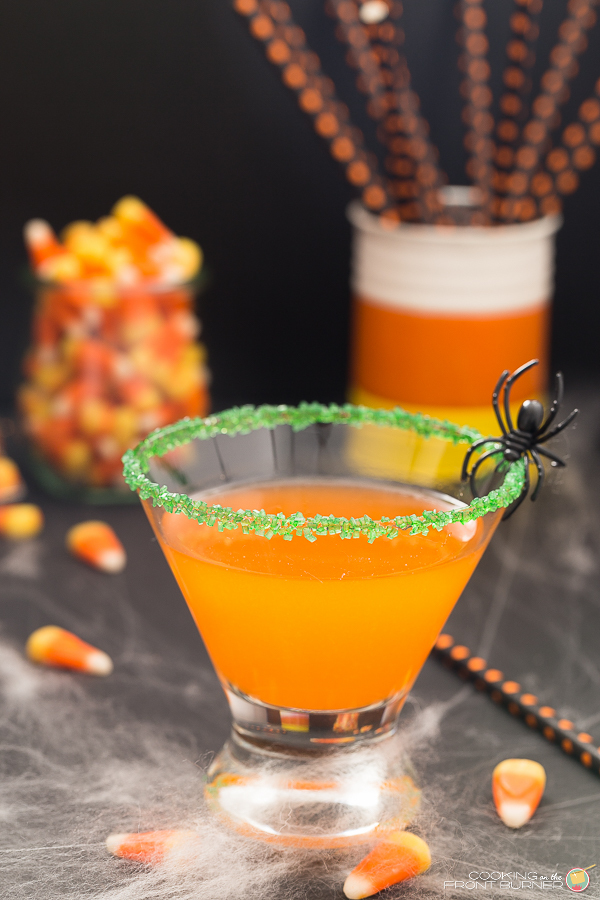 Candy Corn Martini | Cooking on the Front Burner