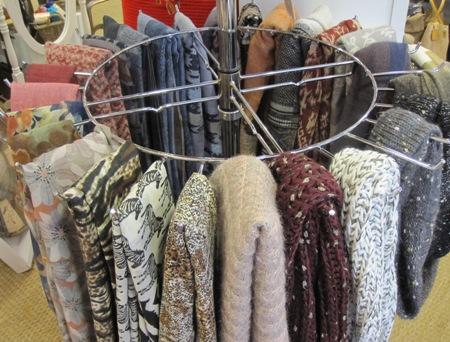 Bufandas, fulares y cuellos