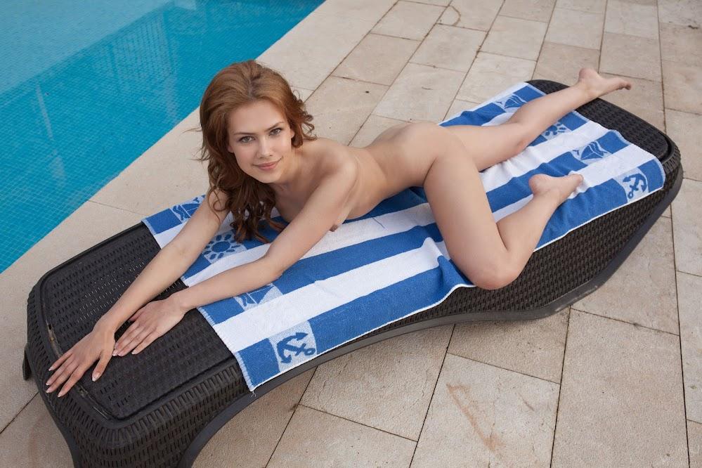 MetArt Laina Sunbathing - idols