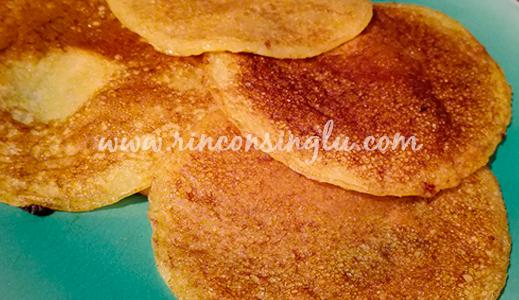 receta de tortitas sin gluten