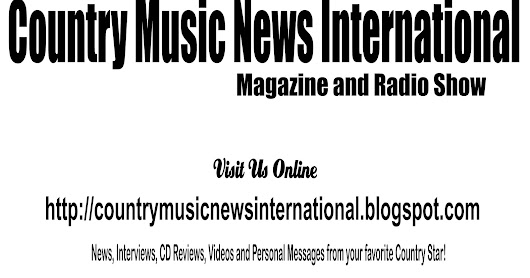 Country Music News International Newsletter April 26. 2017