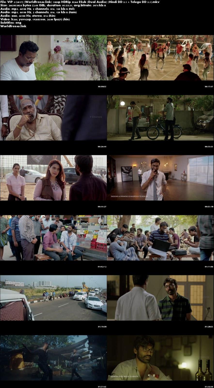 Screen Shoot of VIP 2 Lalkar 2017 HDRip 1080p Hindi Dubbed Movie Download