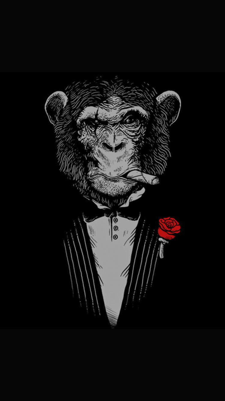 Scare Monkey