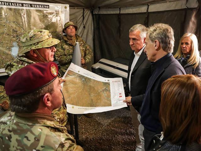 El presidente Macri puso en marcha el primer operativo del programa Fronteras Protegidas