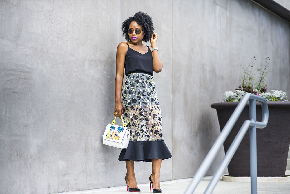 The perfect Spring/Summer Midi Skirt