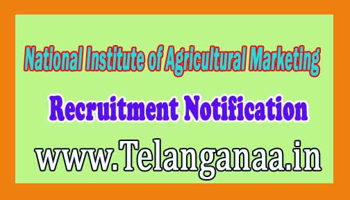 National Institute of Agricultural Marketing CCS NIAM Recruitment Notification 2016