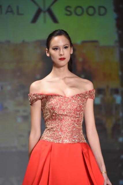 Designer Komal Sood showcases her collection in CENTRESTAGE- HONG KONG-min