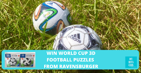 FIFA World Cup 3D Official Match Ball Football Puzzles (REVIEW)
