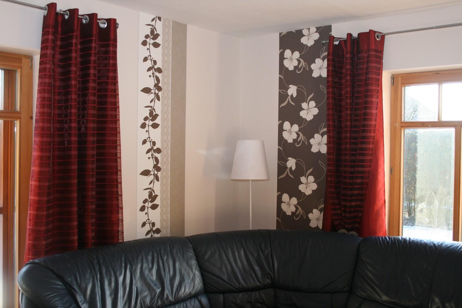 Tapeten Wohnzimmer Beispiele Braun Schlafzimmer Wand Modern