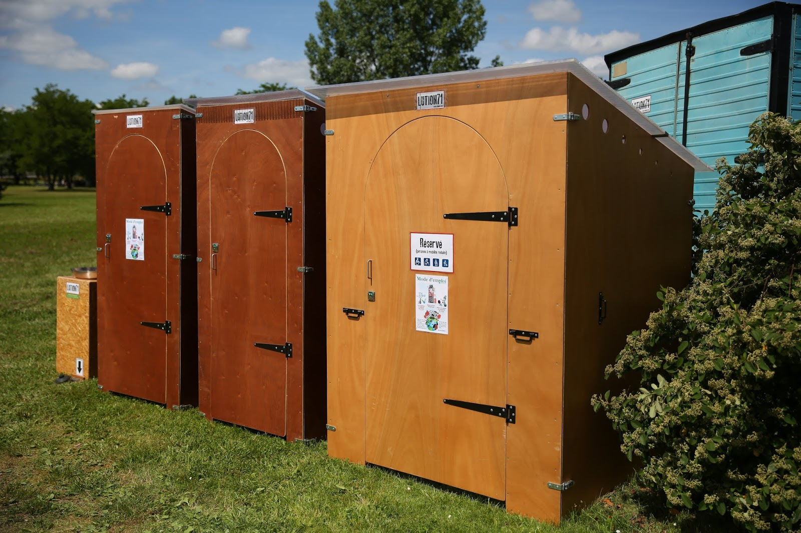 LUTION71: Espace Toilette Sèche