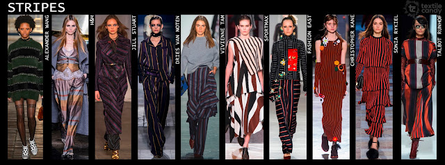 Autumn/Winter 2016, fashion trend, print trend, textile design, Textile Candy, www.textilecandy.com,www.textilecandy.blogspot.co.uk, coloured stripes, stripe trend, stripe fashion, fashion design, contemporary fashion, upcoming fashion trend, uk trend blog, trend forecast,