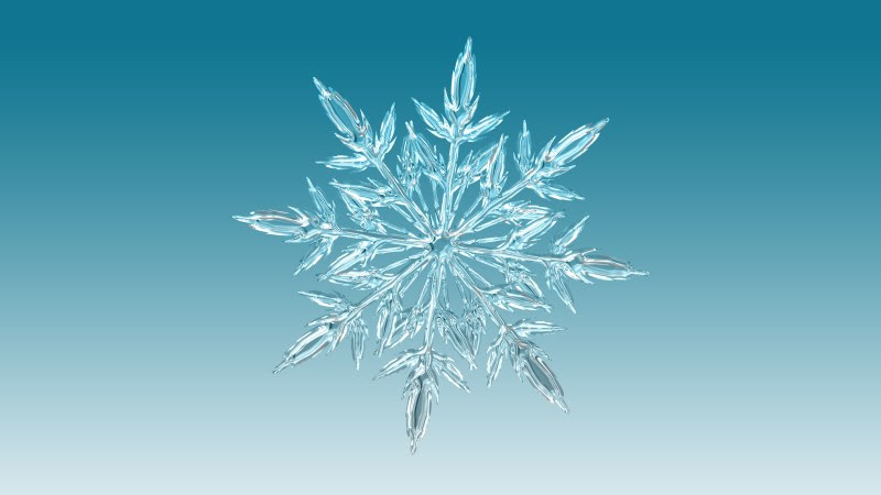 Snowflake Illustration · Free Image by Gerd Altmann