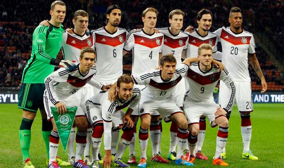 af26c35a74 A seleção da Alemanha é indiscutivelmente uma das favoritas ao título da  Copa do Mundo de 2014. E para tentar confirmar esse status