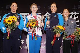 Itália, Rússia, Coreia e Estados Unidos são destaques nas etapas do Grand Prix de Esgrima em Xangai, Paris e Dubai