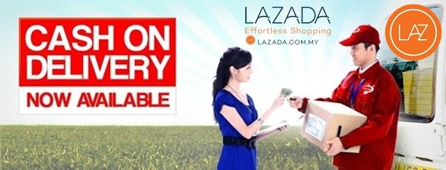 Shopping secara Cash-On-Delivery (COD) di Lazada Malaysia