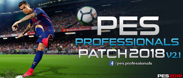 PES Professionals Patch 2018 V2.1