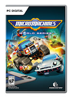 Micro Machines World Series Game Cover PC