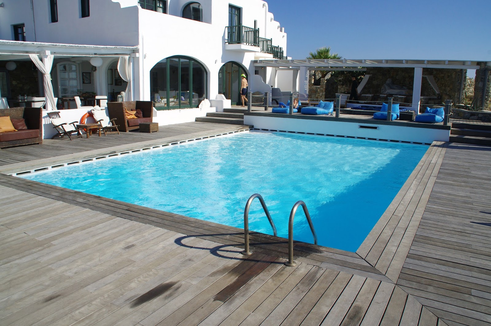 Tharroe of Mykonos Swimming Pool and Deck