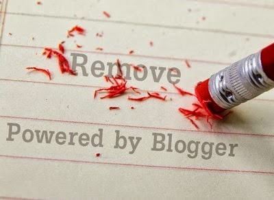 "How to remove ""powered by blogger"" attribution widget in blogger"