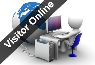 Cara Melihat Pengunjung Yang Sedang Online di Blog Kita 11