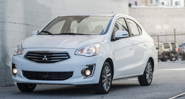 2018 Mitsubishi Mirage G4 Design